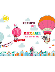 Wall Stickers Wall Decals Style Cartoon Cute PVC Wall Stickers