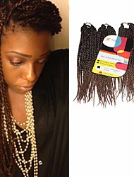 Senegal Twist Mixed Blonde 4/30 Synthetic Hair Braids 12inch Kanekalon 81 Strands 125g  Multipal Pack for Full Heads