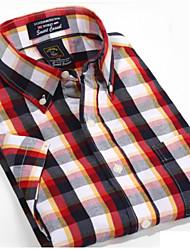 U&Shark Casual&Dress Men's 100% Fine Cotton Short Sleeve Shirt  by American Wahsing/Dmsx-003