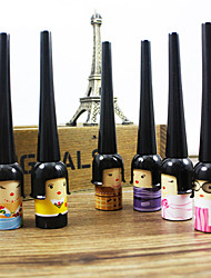 1Pcs Black Waterproof Cute Doll Eyeliner Liquid Pen Makeup Cosmetic Eye Liner