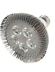 5W E27 Luci LED per la coltivazione 5 LED ad alta intesità 450-550 lm Rosso Blu V 1 pezzo