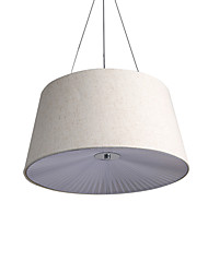 Pendant Light   Modern/Contemporary Chrome Feature for Designers Metal Living Room Bedroom Study Room/Office Kids Room