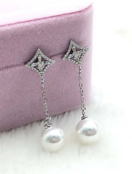 Drop Earrings Jewelry Daily Casual Pearl 1 pair