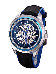 Men's Fashion Watch Quartz Punk Silicone Band Skull Black White Blue Red Yellow Brand