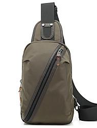 8 L Waist Bag/Waistpack Shoulder Bag Gym Bag / Yoga Bag Wearable Multifunctional Oxford