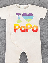 Baby Casual/Daily Print One-Pieces,Rayon Summer Short Sleeve