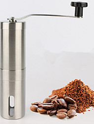 1Pcs Supreme Quality Manual Coffee Grinder Stainless Steel Kitchen Hand Manual Grind Coffee Bean Burr Grinder Mill Tool