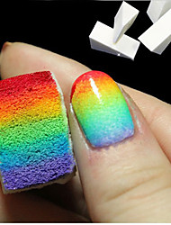 1pcs Gradient Nails Soft Sponge for Color Fade Natural Magic Simple Creative Nail Design Manicure Nail Art Tools