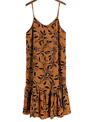 Women's Going out Beach Club Sexy Cute Street chic Sheath Dress,Solid Striped Strap Mini Above Knee Sleeveless Others Multi-colorAll