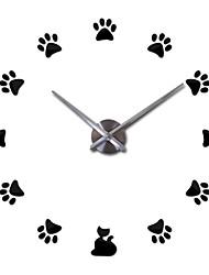 Moderno/Contemporáneo Oficina/ Negocios Familia Escuela/Graduación Amigos Reloj de pared,Novedad Metal 63*63 Interior Reloj