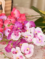 1 Branch Phalaenopsis Artificial Flowers (Random color)