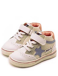 Girl's Sneakers Comfort PU Casual Pink Red
