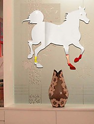 Horse DIY Mirror Wall Stickers Home Decoration Wall Decal