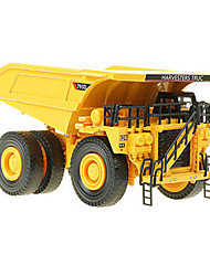Construction Vehicles Toys 1:74 Metal ABS Yellow