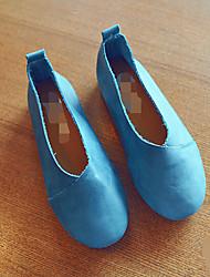 Mädchen-Loafers & Slip-Ons-Lässig-LederKomfort-Blau Rosa