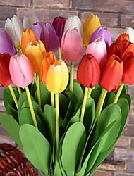 1 Branch Tulip Artificial Flowers (Random color)