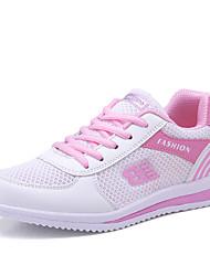 Femme-Bureau & Travail Décontracté SportTalon Plat Plateforme-Creepers Semelles Légères-Chaussures d'Athlétisme-Tulle