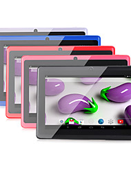 7 inch Android 4.4 WiFi Quad Core 1024*600 1G/8GB Tablet(Assorted Color)