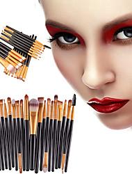 20Pcs Makeup Brushes Set Pro Powder Blush Foundation Eyeshadow Eyeliner Lip Cosmetic Brush Kit Beauty Tools