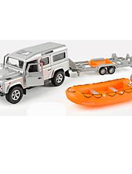 Landfahrzeuge Pull Back Fahrzeuge 1:10 Metall Grau