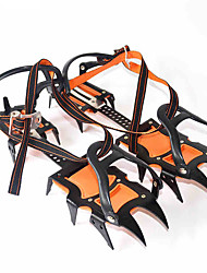 Crampons Hiking Camping Outdoor Anti-skidding Nylon Metal 2 pcs
