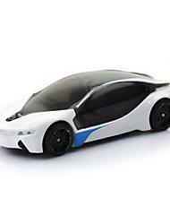 Race Car Toys 1:64 Metal Plastic White