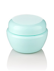 Cosmetic Bottle Solid Round Plastic Green Normal Unisex