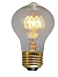 40w saudade e27 parafuso lâmpada branca quente