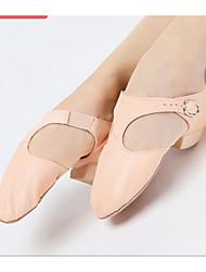Non Customizable Women's Dance Shoes Jazz Sparkling Glitter Flat Heel Silver / Gold