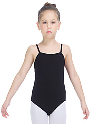 Ballet Leotards Women's Children's Training Cotton Lycra 1 Piece Sleeveless Leotard