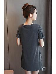 signe 2017 l'été nouvelle section de maternité lâche hibou imprimé à manches courtes, t-shirt tee