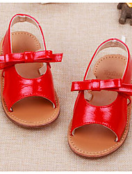 Girl's Sandals Comfort Leather Outdoor Casual Athletic Black Red Running
