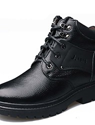 Men's Fashion Genuine Leather Shoes/Combat Boots