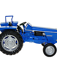 Farm Vehicle Toys Car Toys 1:18 ABS Plastic Metal Blue Model & Building Toy