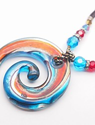 Candy glass pendant