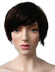 Short Wig Mix Brown Bob Wig Hairstyle Costume Cosplay Wig For Party Synthetic Wig