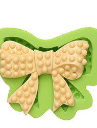 Beauty Bow Silicone Mold Craft Food Safe Gum Paste Resin Fudge Butter Nougat Cheese Molds