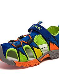 Boys Sandals Summer New Style Children Shoes Boys Fashion Cut-outs Sandals Kids Canvas Rain Sandals Breathable Flats Shoes