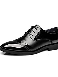 Men's Oxfords/Business Style/Cheap/New/Comfort/Office & Career/Casual/Low Heel Lace-up/Black Walking