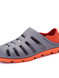 Men's Sandals Spring Summer Hole Shoes Rubber Outdoor Casual Black Gray Light Brown Royal Blue
