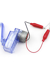 Small Hand - Cranked Generator DIY Mechanical Motor Gear Box Light Bulb LED Lights Alligator Clip Technology Small Production