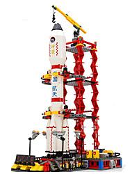 Blocos de Construir para presente Blocos de Construir Modelo e Blocos de Construção ABS 2 a 4 Anos 5 a 7 Anos 8 a 13 Anos Vermelho Ivory