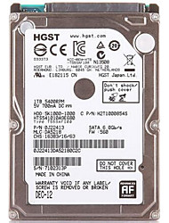 HGST 5K1000 500GB Laptop / Notebook disco rígido 5400rpm SATA 3.0 (6Gb / s) 8MB esconderijo 2.5 polegadas