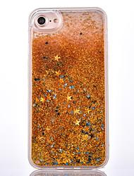 Pour Liquide Coque Coque Arrière Coque Brillant Dur Polycarbonate pour Apple iPhone 7 Plus iPhone 7