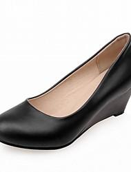 Для женщин Обувь на каблуках Оригинальная обувь Удобная обувь Полиуретан Синтетика Весна Лето Осень ЗимаСвадьба Повседневные Для