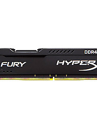 Kingston RAM 8GB DDR4 2400MHz Memória de desktop Fury HyperX PNP
