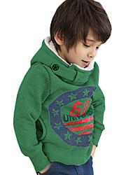 Pull à capuche & Sweatshirt / Veste & Manteau Boy Imprimé Hiver / Automne Mélange de Coton