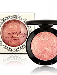 1Pcs Baked Blush Palette Baked Cheek Color Blusher Blush Colorete Iluminador Maquiagem Bronzer Sleek Cosmetic Shadows