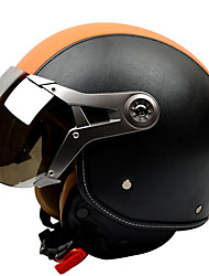 GXT G-288 motorcycle helmet Air Force Retro Helmet Hare Helmet Anti-fog Breathable Half Helmet