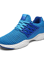 2017 Spring Men's Sneakers Comfort Light Soles Tulle Athletic Shoes Casual Running Shoes Flat Heel Lace-up More Color EU39-43